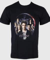 Pánské tričko  Twilight – Eclipse – Cullen Group Lion Cloud – LIVE NATION R ...