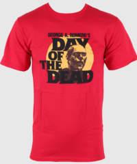 Pánské tričko  Day of the Dead – Circle Portrait – Red – IMPACT – DOD06