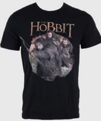 Pánské tričko  Hobit – Warriors – Black – HOBTS-1206-NOIRL