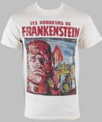 Pánské tričko  Horror Of Frankenstein – PLASTIC HEAD – PH7648