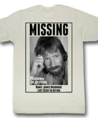Pánské tričko  Nezvěstní v boji (Chuck Norris) – Missing – AC – MIA519