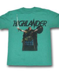 Pánské tričko  Highlander – Come At Me – AC – HL519