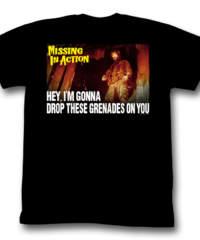Pánské tričko  Nezvěstní v boji (Chuck Norris) – Premeditated Grenadine – AC – ...