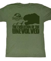 Pánské tričko  Jurský park – Evolve Only To Die – AC – JUR5128