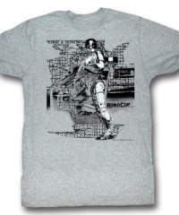Pánské tričko  Robocop – Detroit – AC – ROB586