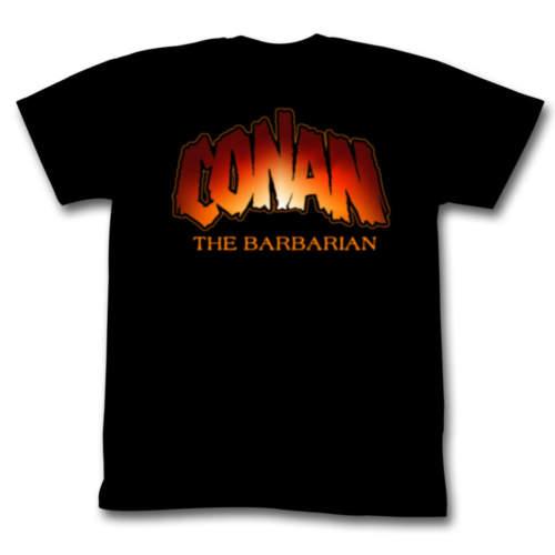 Pánské tričko  Barbar Conan – New Logo – AC – CON536