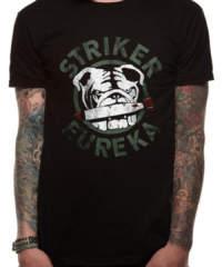 Pánské tričko  Pacific Rim – Striker Eureka – Black – PE10871TSB