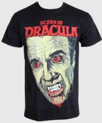 Pánské tričko  Horror – Scars Of Dracula – PLASTIC HEAD – PH7650