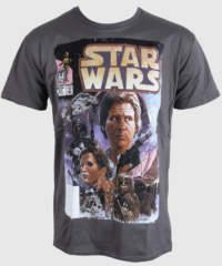 Pánské tričko  Star Wars – Comic – PLASTIC HEAD – PH7846