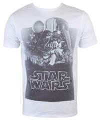 Pánské tričko  Star Wars – Darth Vader Sublimation – White – INDIEGO – I ...