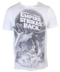 Pánské tričko  Star Wars – Empire Strikes Back Sublimation – White – INDIEGO & ...