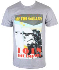 Pánské tričko  Star Wars – Join The Empire – Charcoal – INDIEGO – Indie0255