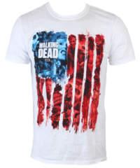 Pánské tričko  The Walking Dead – American Gore – White – INDIEGO – Indi ...