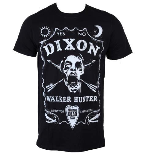 Pánské tričko  The Walking Dead – Dixon Board – Black – INDIEGO – Indie0312