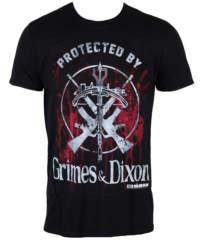 Pánské tričko  The Walking Dead – Grimes & Dixon – Black – INDIEGO – ...