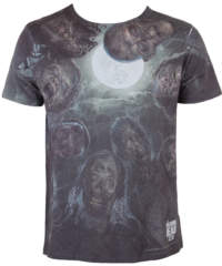 Pánské tričko  The Walking Dead – Sublimation Over You – White – INDIEGO ̵ ...
