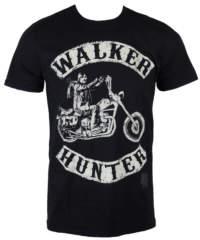 Pánské tričko  The Walking Dead – Walker Hunter – Black – INDIEGO – Indi ...