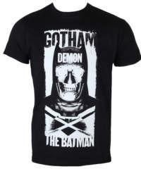 Pánské tričko  Batman – Gotham Demon – Black – HYBRIS – WB-1-BATSUP006-H61-9