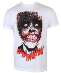 Pánské tričko  Batman – The Joker-HyaHaHaHa – White – HYBRIS – WB-1-BAT0 ...