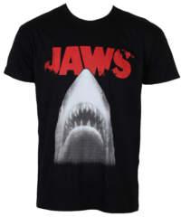 Pánské tričko  Čelisti – Poster – Black – HYBRIS – UV-1-JAWS002-H61-4-BK