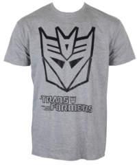 Pánské tričko  Transformers – Decepticon Logo – H. Grey – HYBRIS – HSB-1 ...