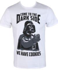 Pánské tričko  Star Wars – We Have Cookies – White – LEGEND – HSTTS1254