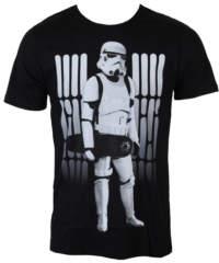 Pánské tričko  Star Wars – Skate Trooper – Black – LEGEND – HSTTS1329