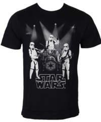 Pánské tričko  Star Wars – Group Of Trooper – Black – LEGEND – HSTTS1345