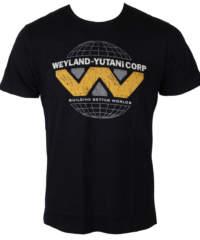Pánské tričko  Alien (Vetřelec) – Weyland Yutani Logo – Black – LEGEND – ...