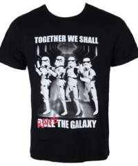 Pánské tričko  Star Wars – Trooper Party – Black – LEGEND – MESWSTOTS076