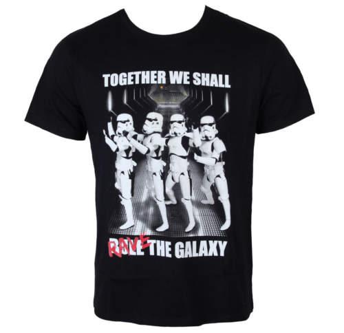 Pánské tričko  Star Wars – Trooper Party – Black – LEGEND – MESWSTOTS076