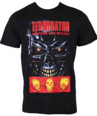 Pánské tričko  Terminator – Hunter And Killers – Black – LEGEND – METERM ...