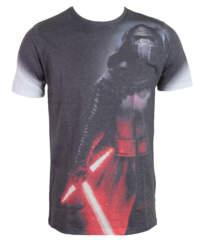 Pánské tričko  Star Wars – Kylo Side Print Sub – ROCK OFF – STWAEP7TS24MB