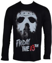 Pánské tričko  s dlouhým rukávem Friday The 13th – Black – HYBRIS – WB-19-F13T ...