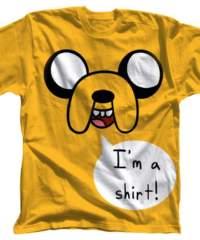 Filmové tričko Adventure Time  – I'm a Shirt
