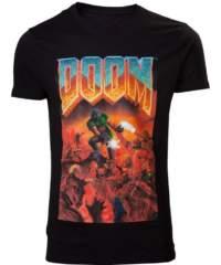 Tričko Doom  – Classic Box Art