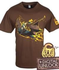 Tričko DOTA 2  Batrider+ Digital Unlock