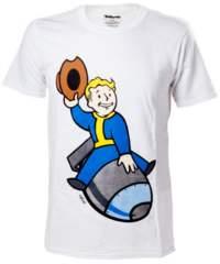 Tričko Fallout 4  – Vault Boy Bomber
