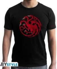 Filmové tričko Game of Thrones  – Targaryen