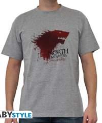 Filmové tričko Game of Thrones  – The North