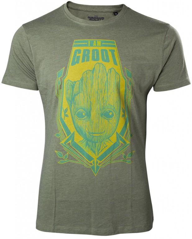 Filmové tričko Guardians of the Galaxy  – I am Groot