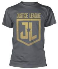 Filmové tričko Justice League  – Gold Logo
