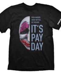 Tričko PayDay 2  – Hoxton Mask