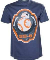 Filmové tričko Star Wars  – BB-8 and Stars