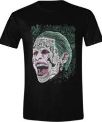 Filmové tričko Suicide Squad  – Joker Screaming