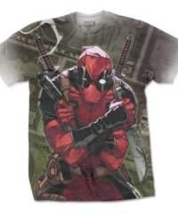 Tričko Deadpool – Cash