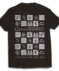 Tričko Game of Thrones – Win or Die