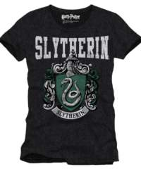 Tričko Harry Potter – Zmijozel (černé)