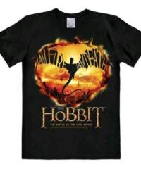 Tričko Hobbit – I am fire I am death