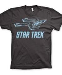 Tričko Star Trek – Enterprise Ship (tmavošedé)